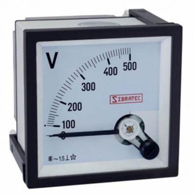 Voltimetro Analogico 500v 72mm