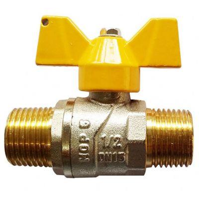 Registro Gas Reto Rosc 1/2x1/2 mm