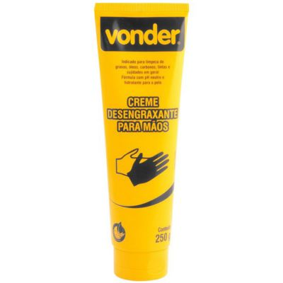 Creme Desengraxante p/ Mãos 250g Vonder