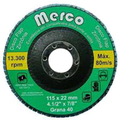 Flap Disc Zirc G80 4.1/2 Merco