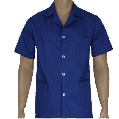 Jaleco Ind Azul mc xg